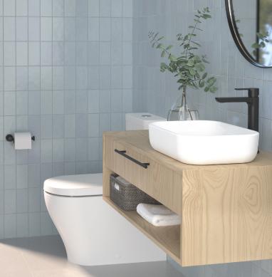 Vital measurements for a functional bathroom