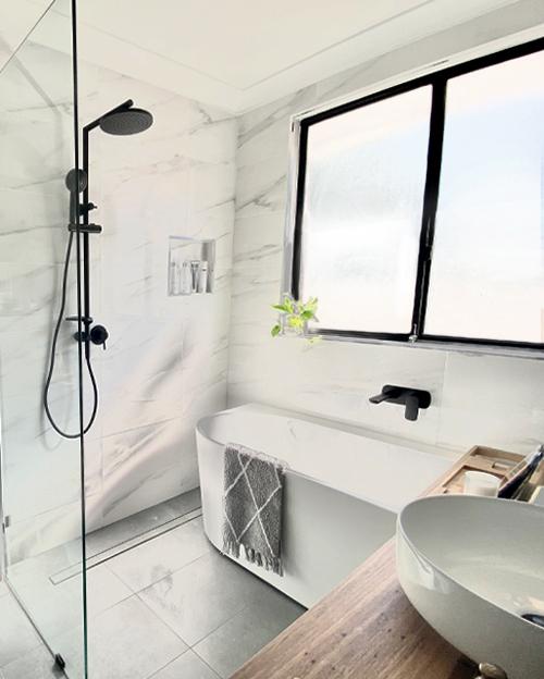 A Sleek Simple Sydney Bathroom Transformation Caroma