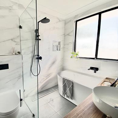 A Sleek & Simple Sydney Bathroom Transformation