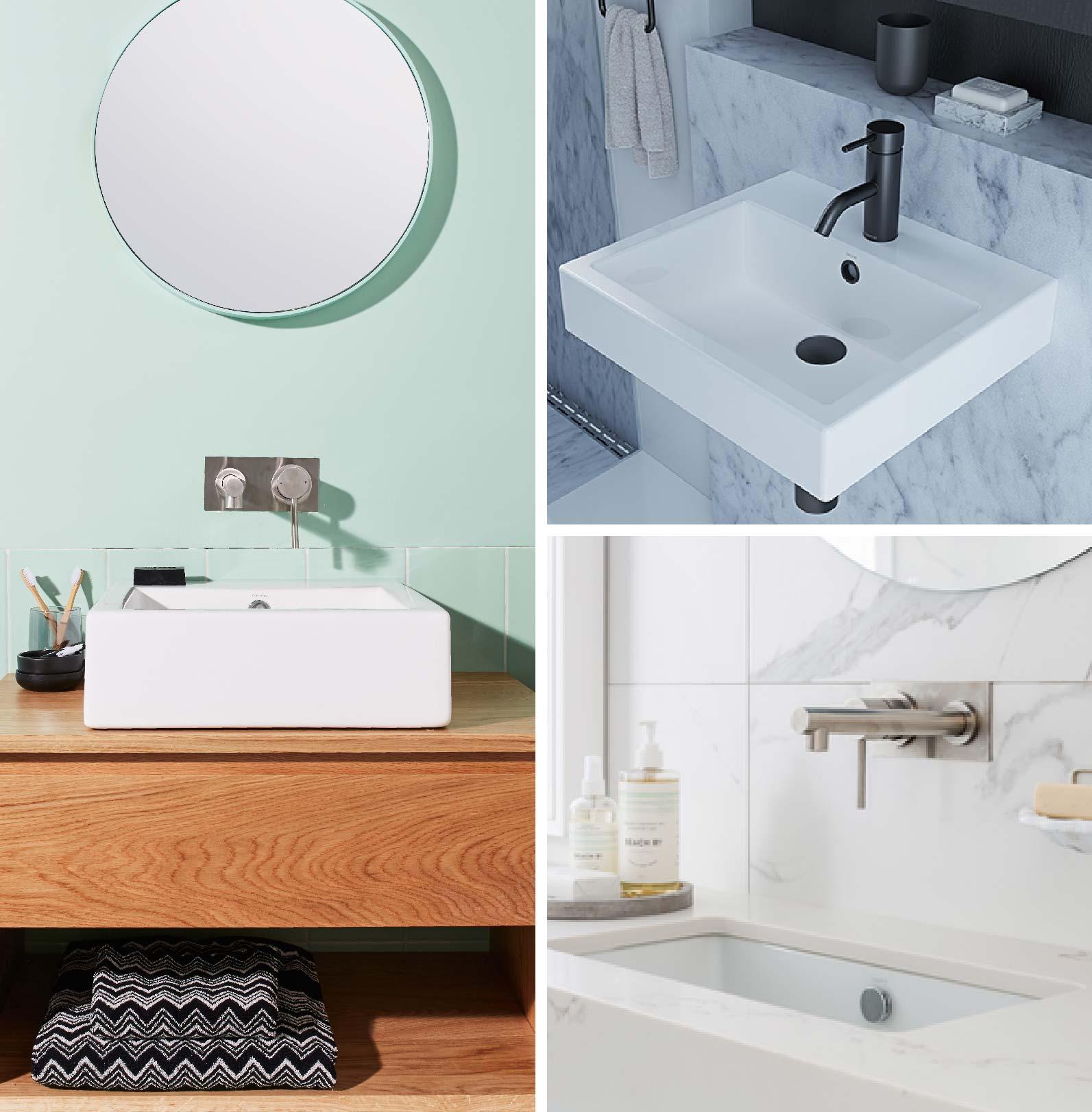 The basics of choosing a basin for your bathroom