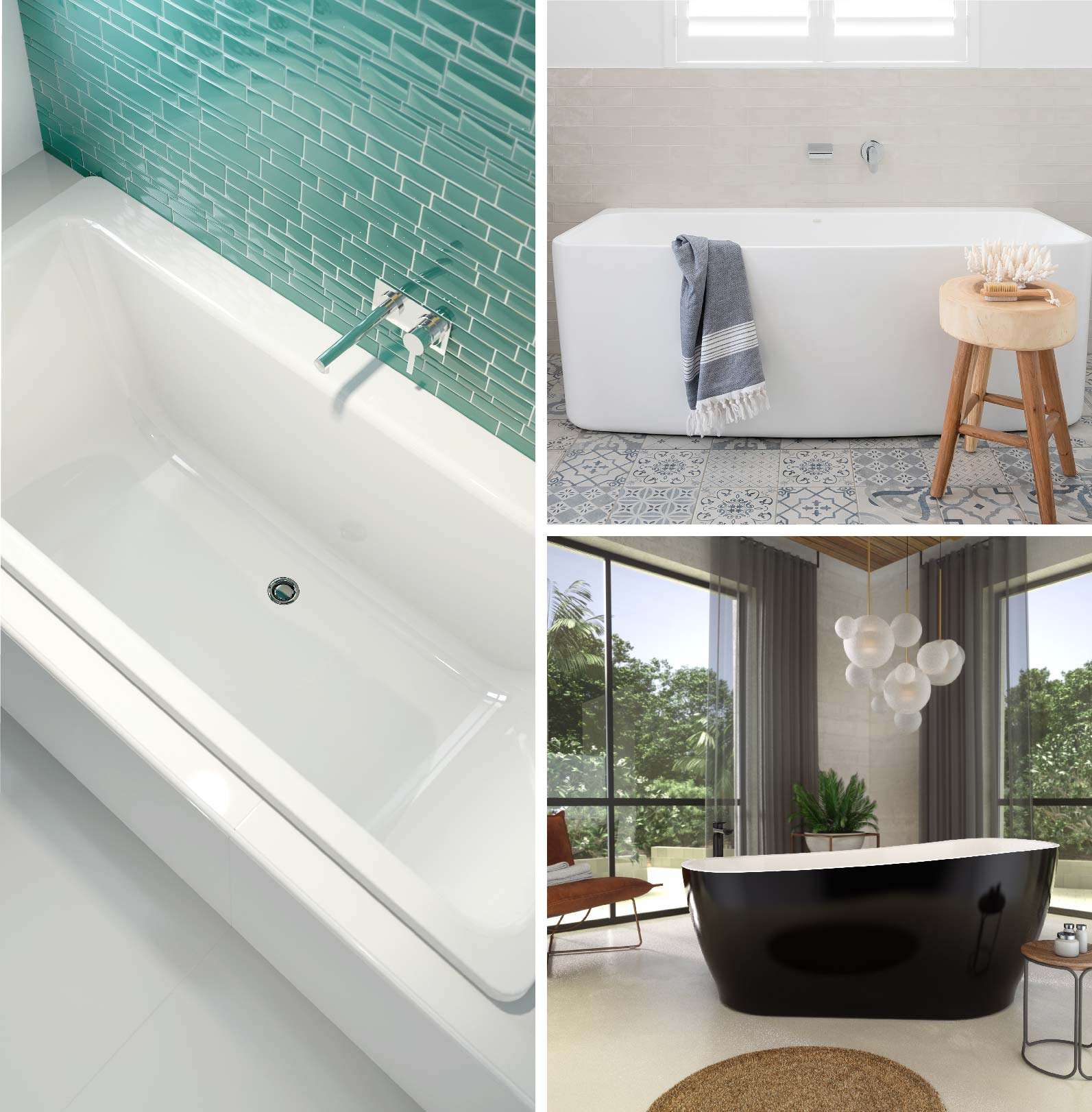 How to choose the right bath for your sanctuary